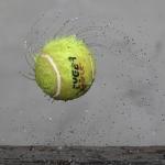 tennisbal snelheid